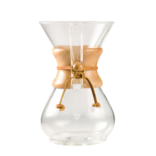 Chemex Jarra de Vidro - The Best Brewing Coffees - CoffeeMaker
