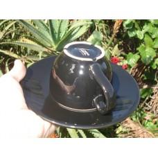 Xícara para Latte Art com Pires - 180ml