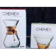 Kit Chemex Love Love - 01 Chemex grande Linda + 100 filtros papel para Chemex