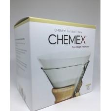 Filtro Chemex Circular c/ 100 unidades