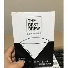 Filtro de Papel n.2 - Branco c/ 30 unid. The Best Brew